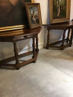 Pair of Demi Lune Tables