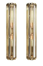 Pair of Murano Sconces (Available in 2 Sizes)
