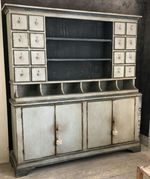 Painted Grocery Store Cabinet From Bologna