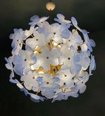 Murano Chandelier (Available in 2 Sizes, White or Blue)