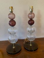 Pair of Murano Lamps