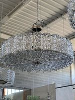 Murano Chandelier (4 Sizes, Clear or Colored Glass)