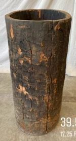 Wabi Sabi Tree Trunk Planter